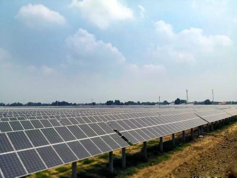 Ningxia 120mW ground photovoltaic support